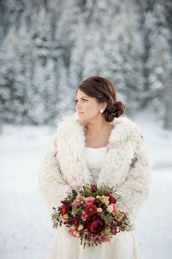 novia de nieve