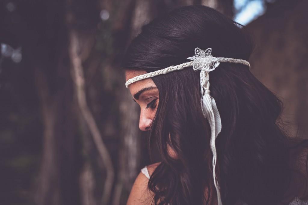 tocado novia yolancris