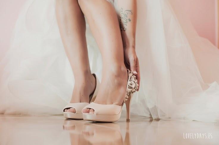 zapatos de novia que se inspiran en la elegancia femenina - quiero