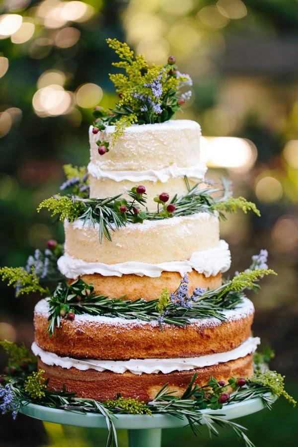 naked cake pastel nupcial