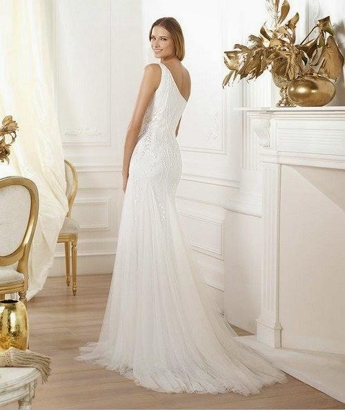 4 tipos de cola en el vestido de novia - quiero una boda perfecta