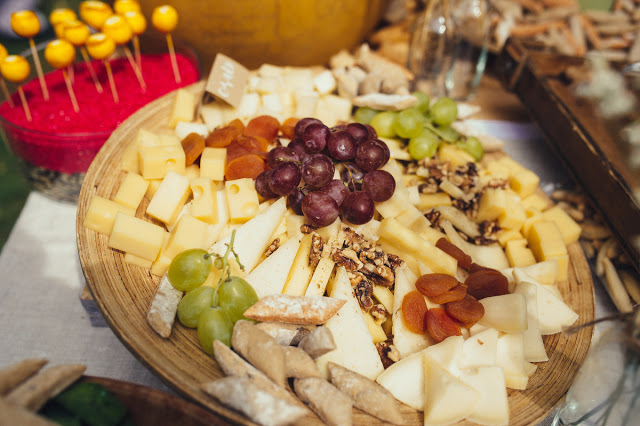mesa quesos boda