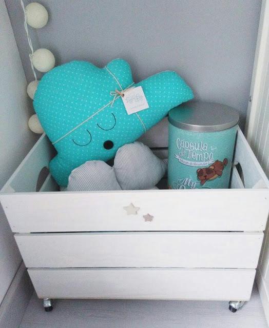 caja madera juguetes