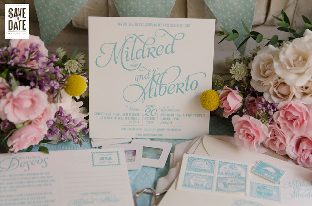 invitacion boda save the date projects mint