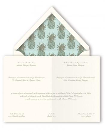 invitacion boda querida valentina piñas
