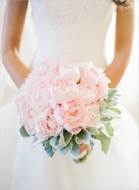 peonias ramo novia rosa cuarzo