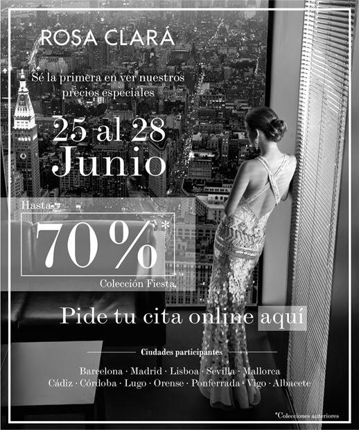 Venta Especial Rosa Clará Vestidos De Fiesta Hasta El 70 De Descuento Quiero Una Boda Perfecta Blog De Bodas