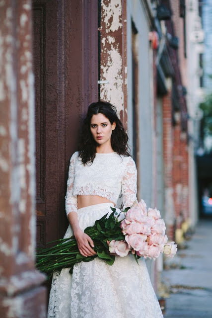 vestido encaje novia