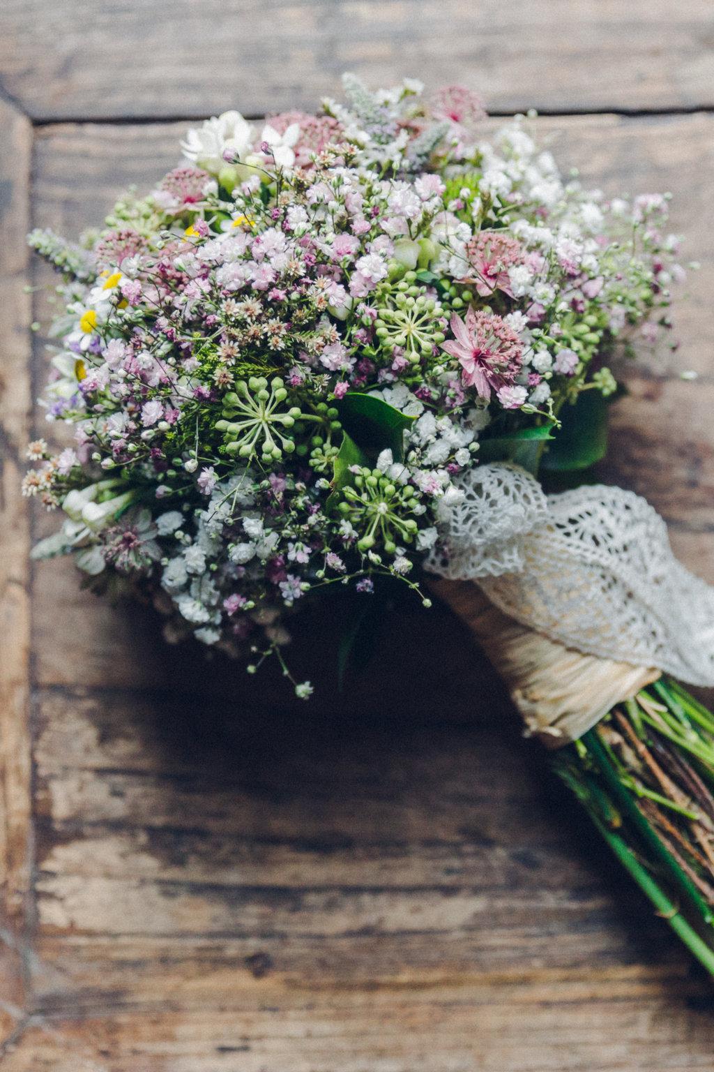 bouquet ramo novia flores silvestres