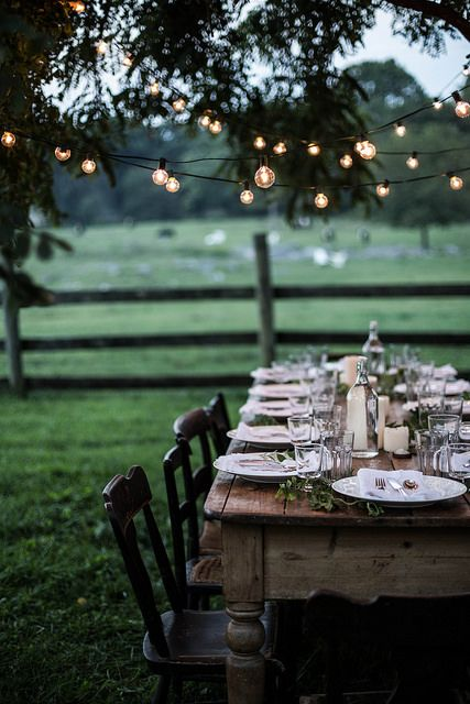 mesa rustic aire libre