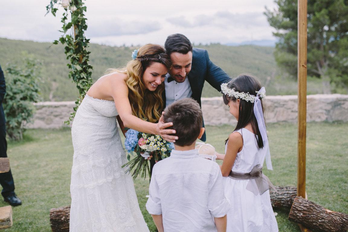 niños boda