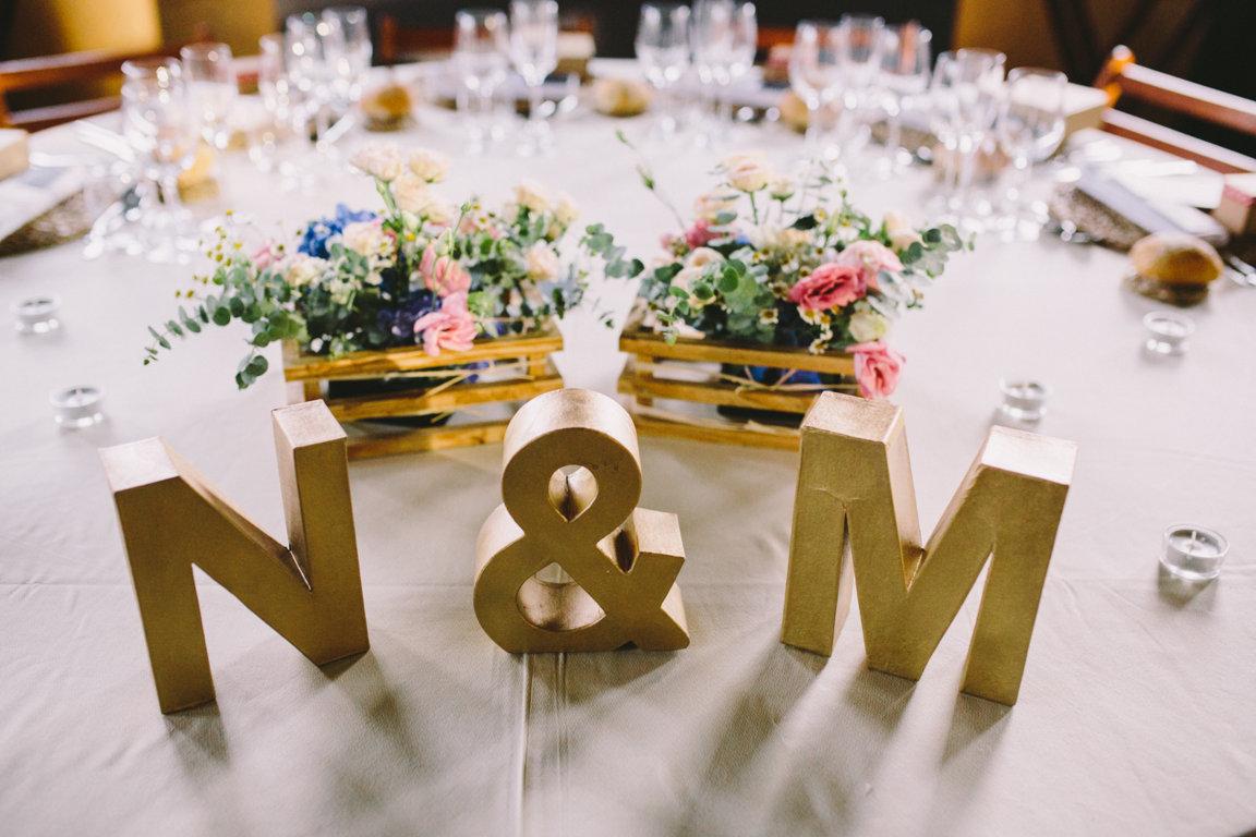 decoracion mesas boda rustica