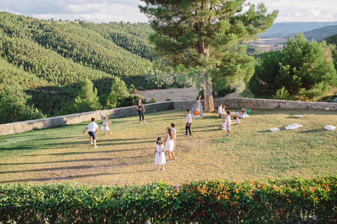 zona de juegos boda