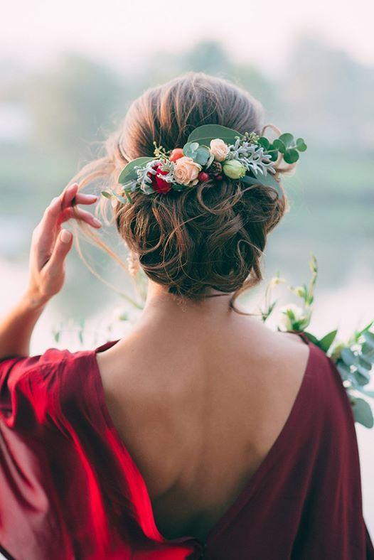 prendido pelo flores invitada boda
