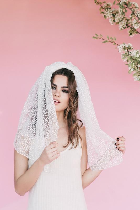 velos de novia bebas closet