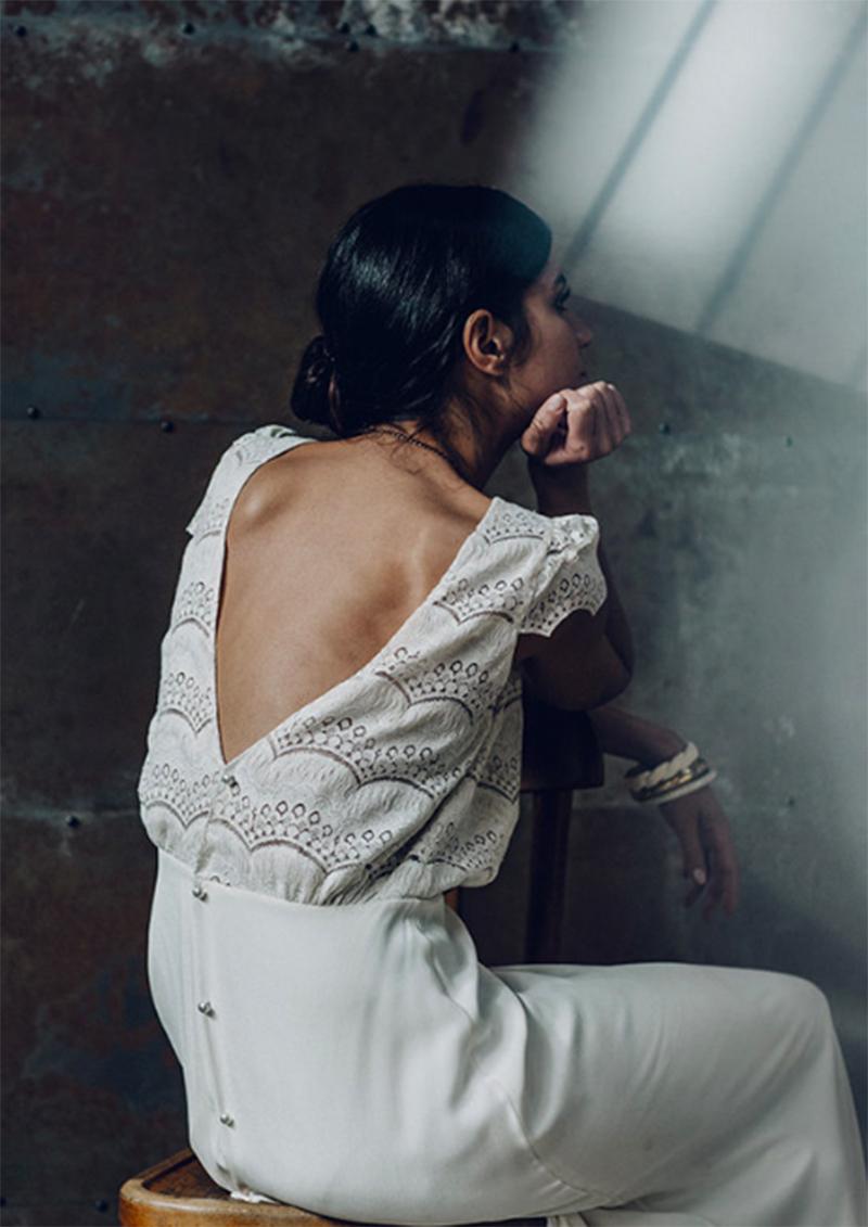 vestido novia espalda con escote