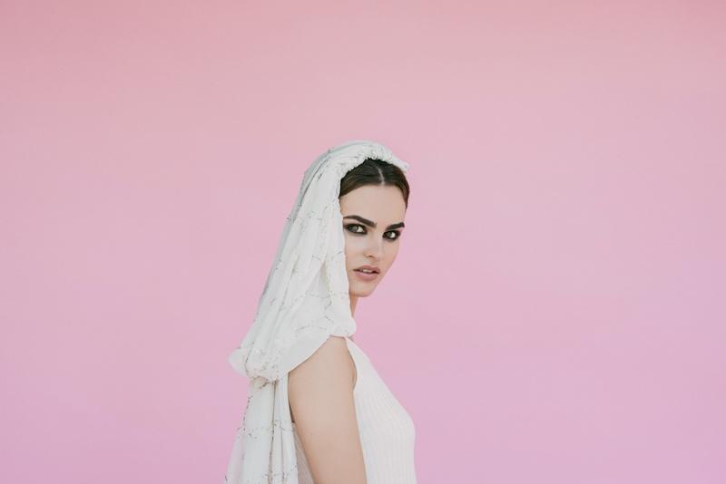 tendencias nupciales velo de novia