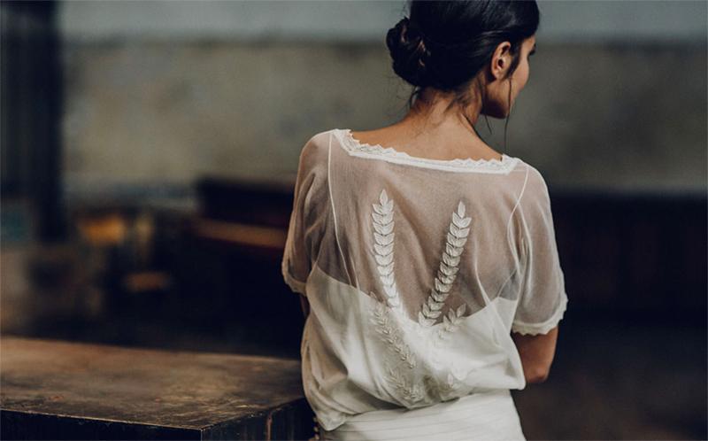 encaje vestido de novia