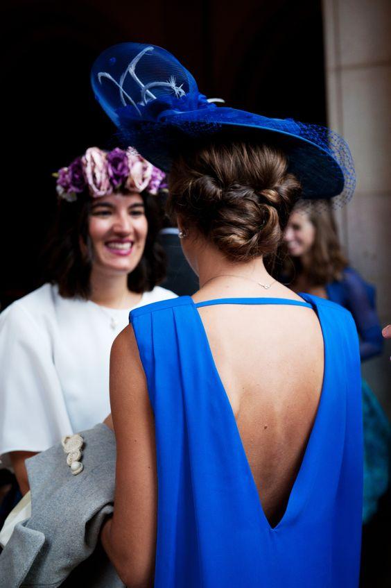 vestido azul klein invitada boda