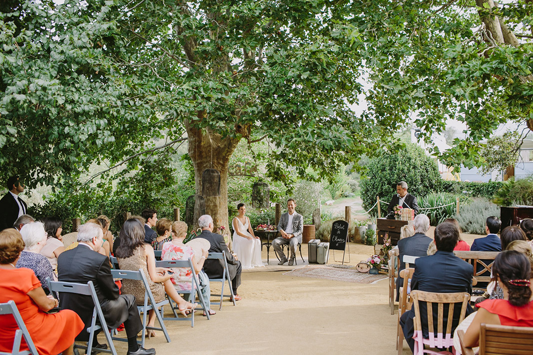 boda aire libre  l' avellana mas d' en cabre