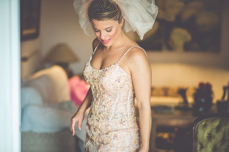 vestido novia rosa cuarzo