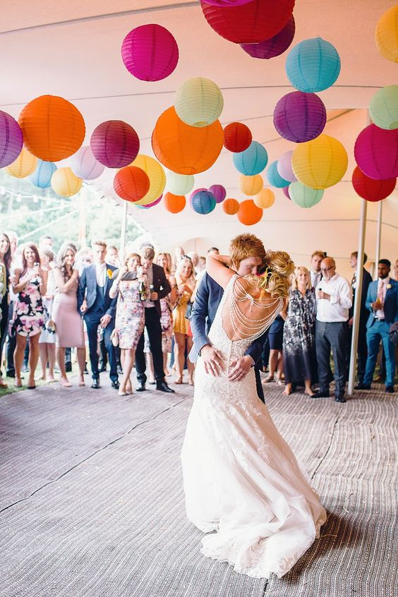 boda colores vivos