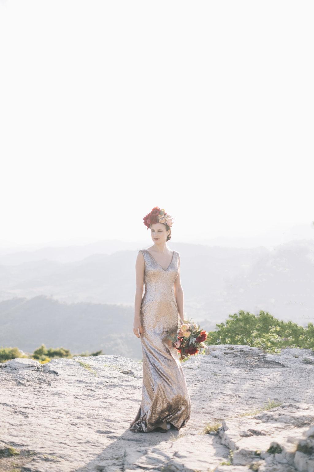 modelo corela vestido pronovias