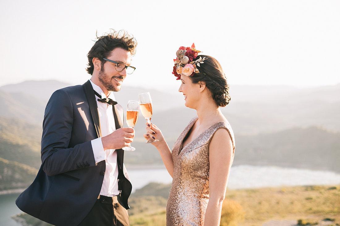 brindis boda novios
