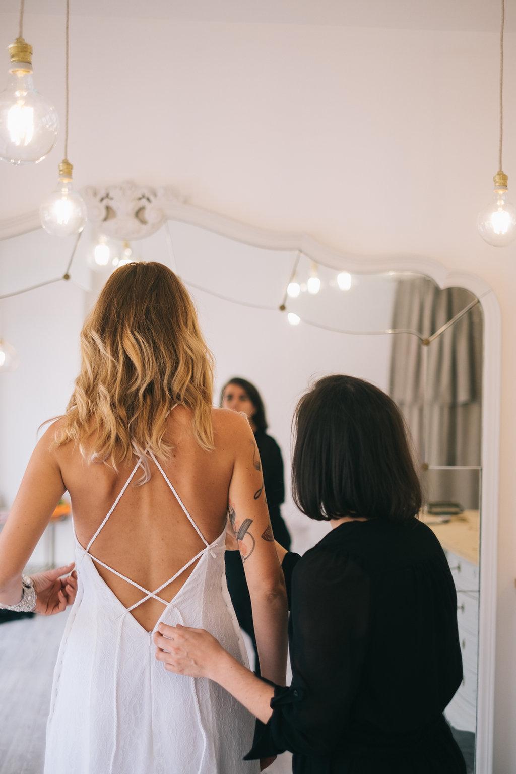 diseñadora novias barcelona
