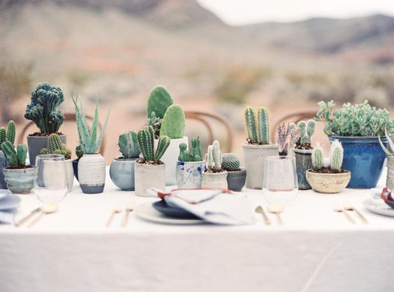 cactus style table