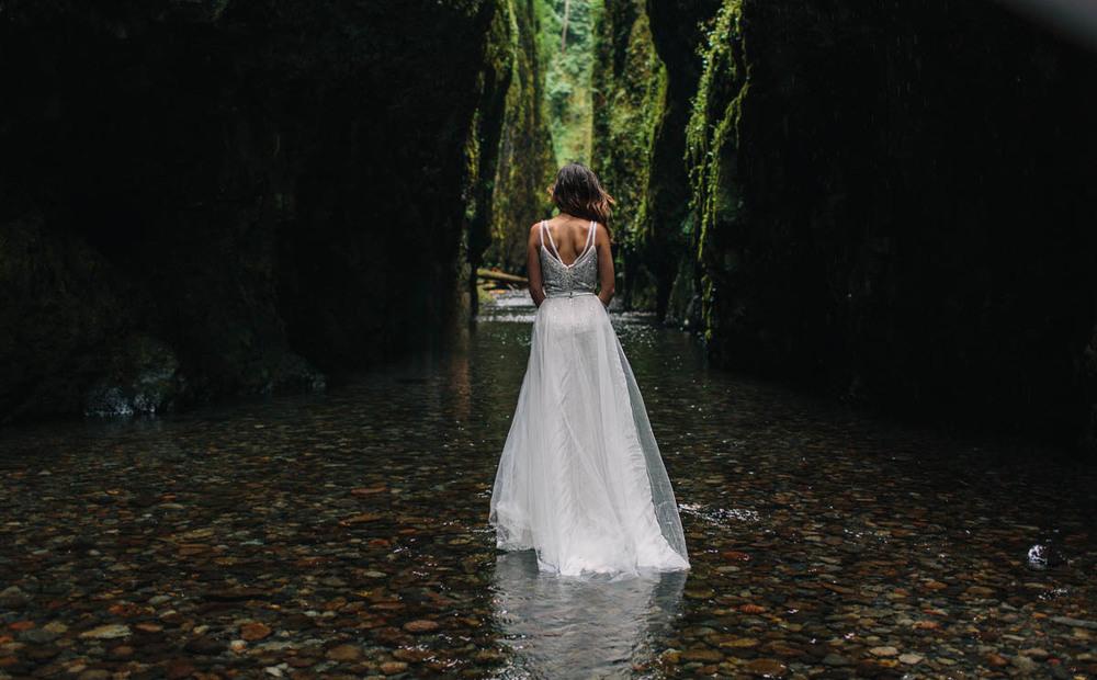 falda de tul boda