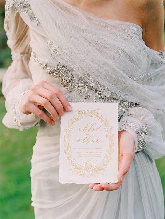 mangas largas vestido de novia