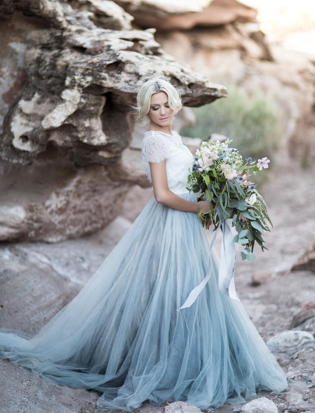 Novias bailarinas con falda de tul - Quiero una boda perfecta
