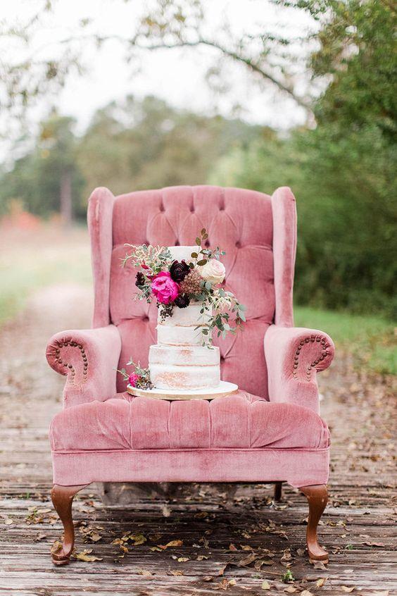 velvet cake wedding