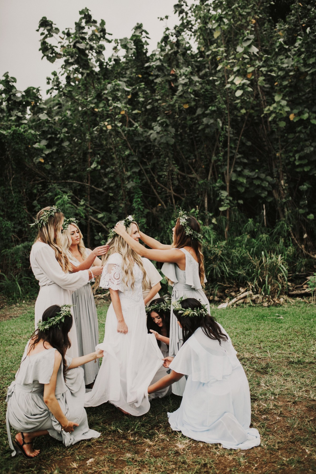 bridesmaids bohemian