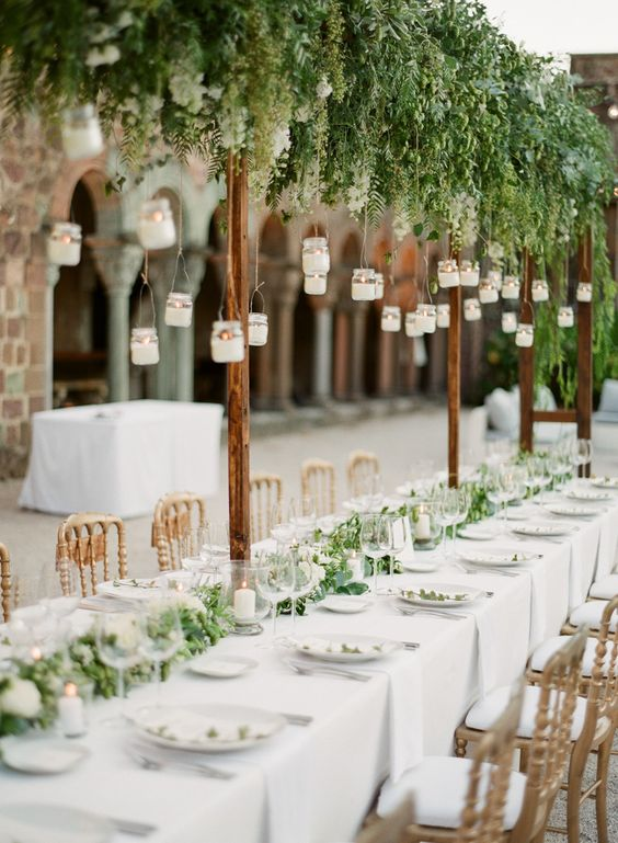 boda decoracion aire libre