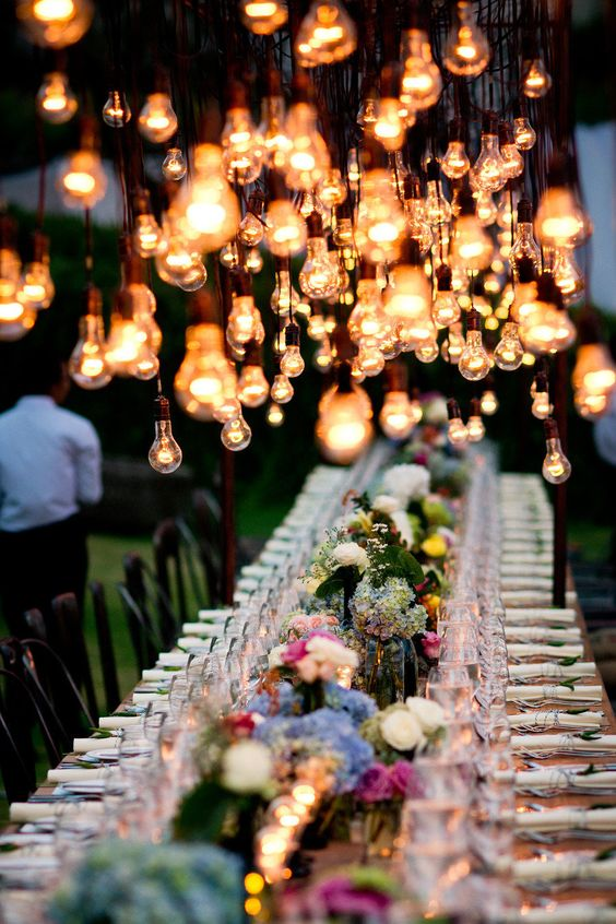 bombillas boda