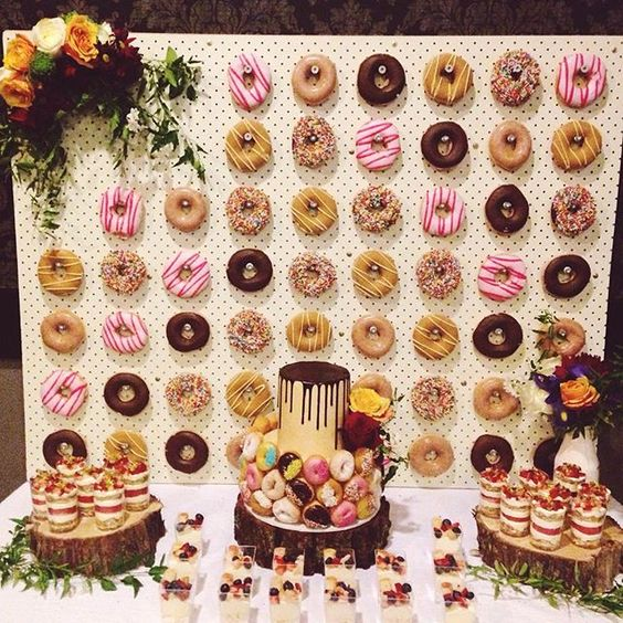 donuts boda