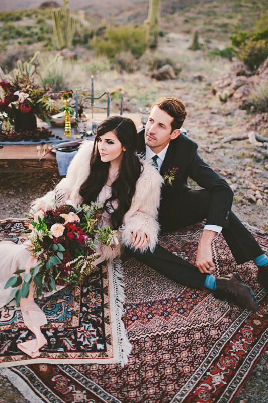 novios boda otono