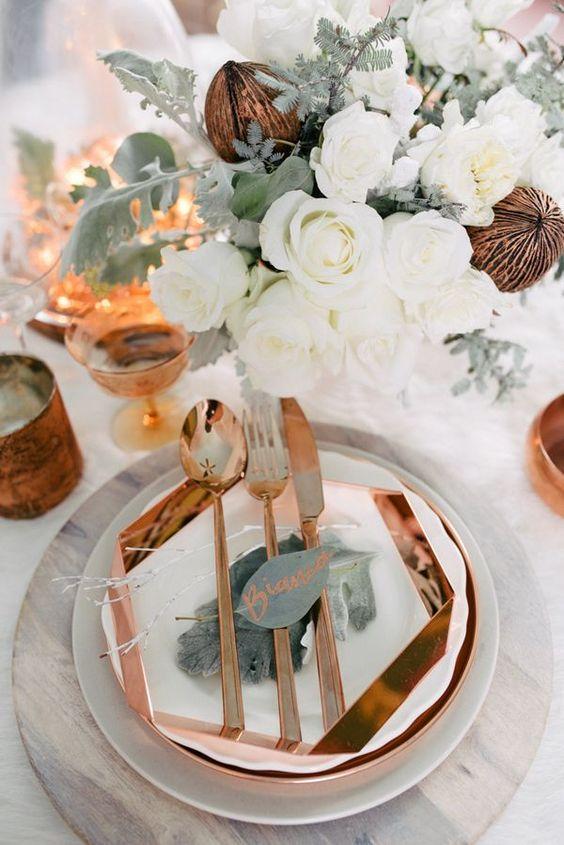 decoracion marmol boda