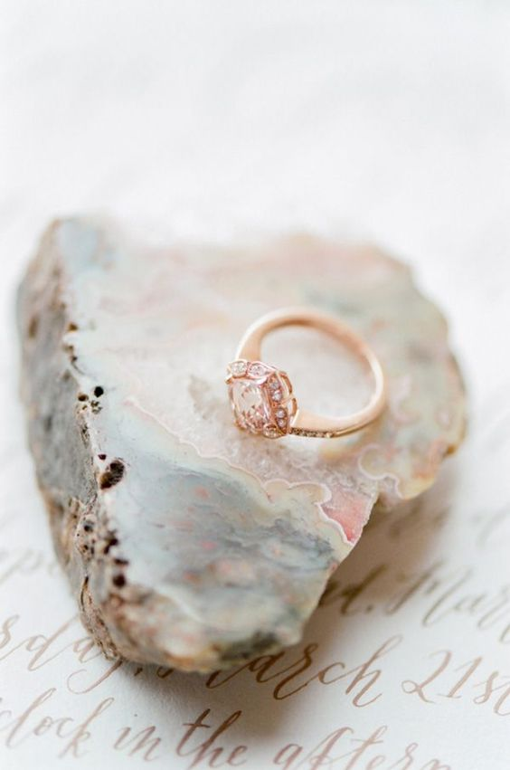 ring marble wedding