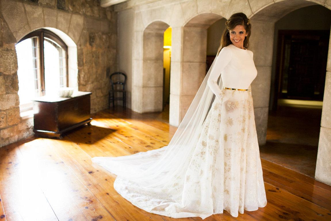 boda monica y juan burgos hotel landa palace