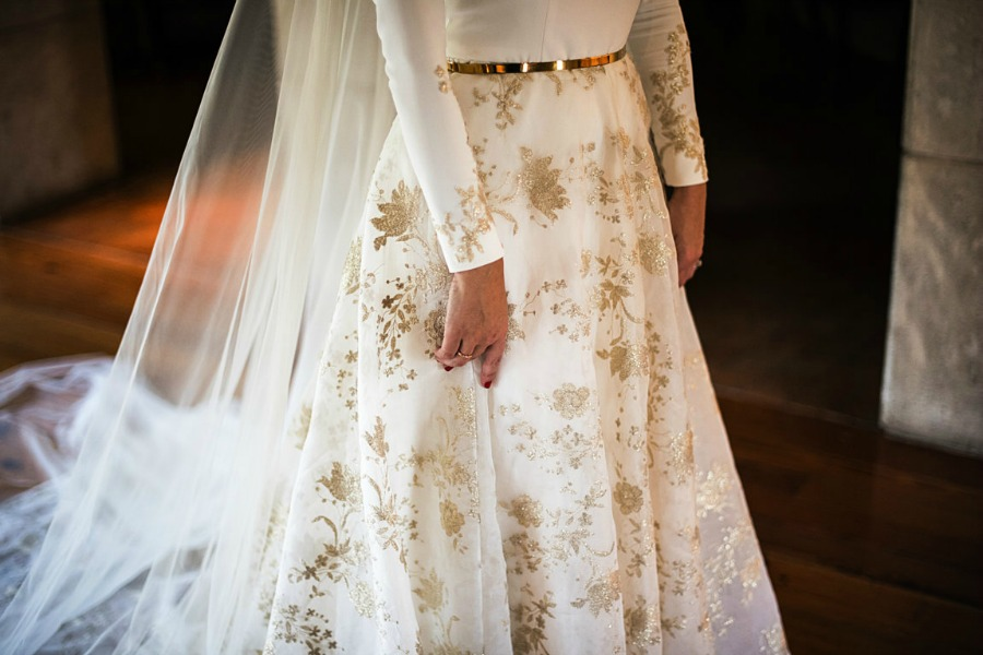 boda monica y juan burgos  vestido novia from lista with love