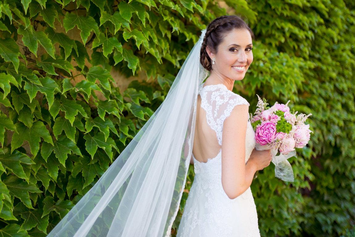 vestido novia escote espalda pronovias