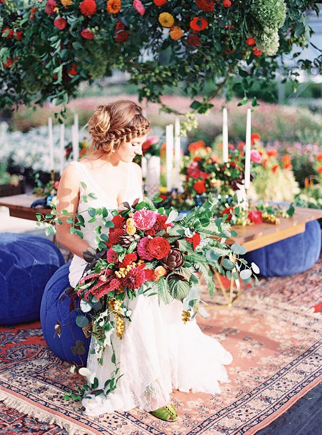 boda con color