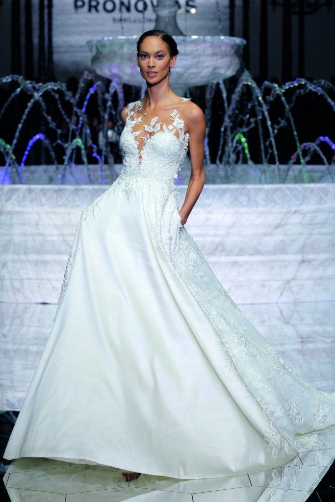 vestidos novia pronovias 2018 wish PRONOVIAS FASHION SHOW_Ria