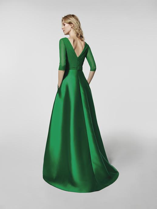 madrina con vestido largo 2018