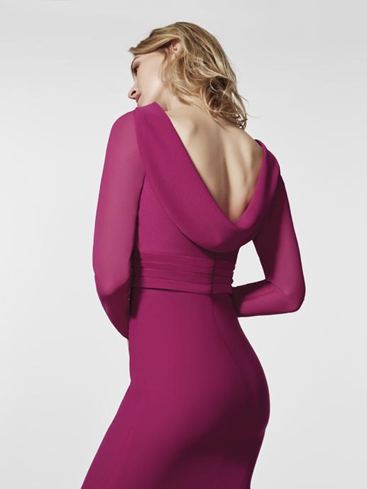 vestidos elegantes madrina 2018