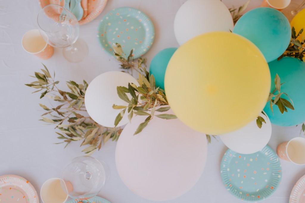 decoracion cumpleanos con globos