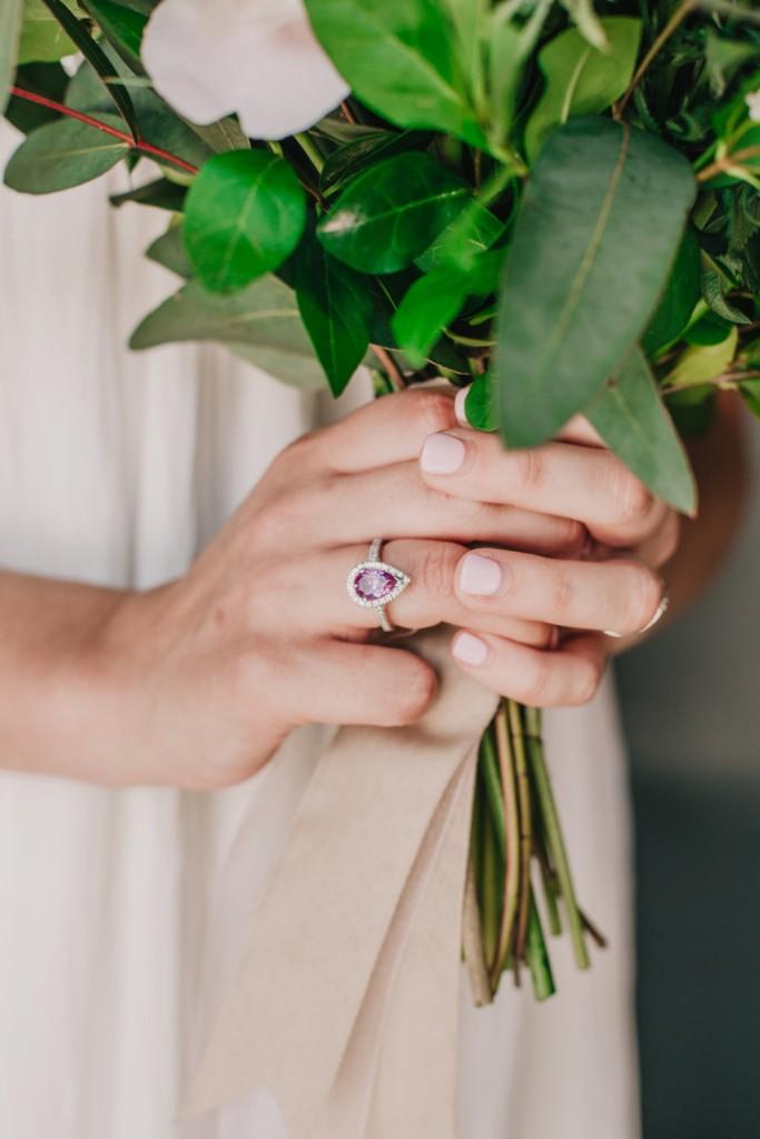 anillo pedida novia